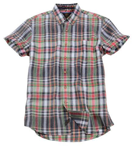 Authentic Madras Woven<br>Navy Multi