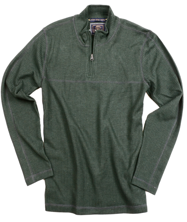 Drop Needle Quarter Zip<br>Hunter