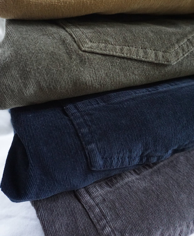 Stretch Corduroy<br>Marine