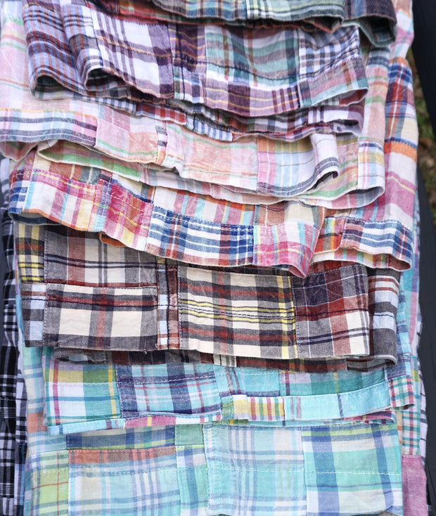 Patch Madras Short<br>Pink