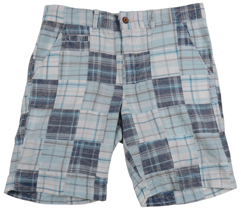 Patch Madras Short<br>Blue