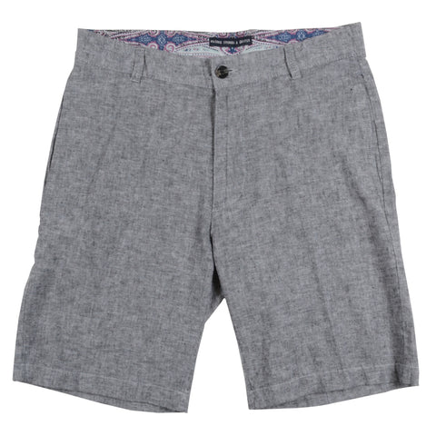 Linen Cotton Short<br>Lt Grey