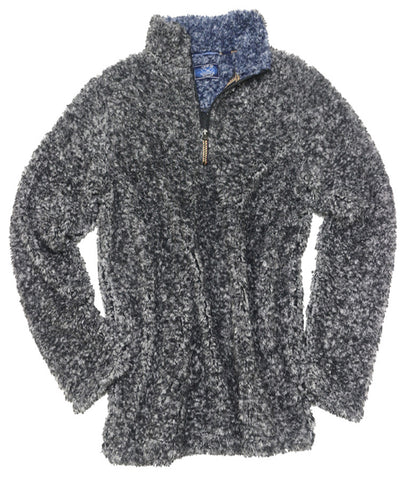 Frosted Fleece Quarter Zip<br>Charcoal