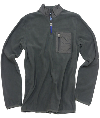 Polar Fleece Quarter Zip<br>Iron Gate