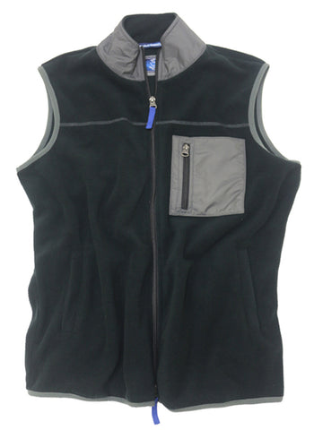 Polar Fleece Vest<br>Pirate Black