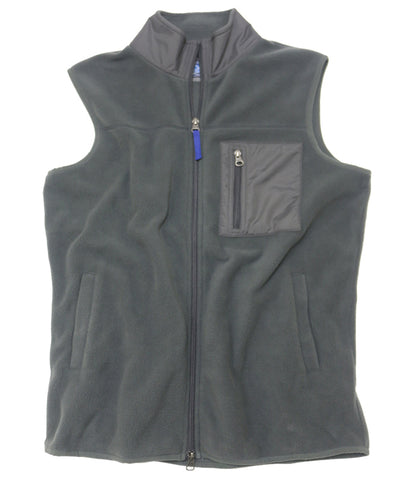 Polar Fleece Vest<br>Iron Gate
