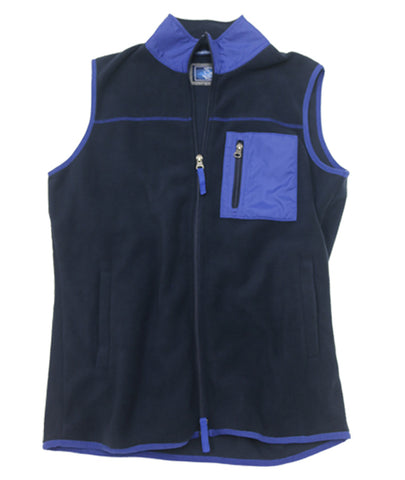 Polar Fleece Vest<br>Mood Indigo