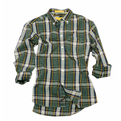 Oxford Washed Plaid<br>Hunter