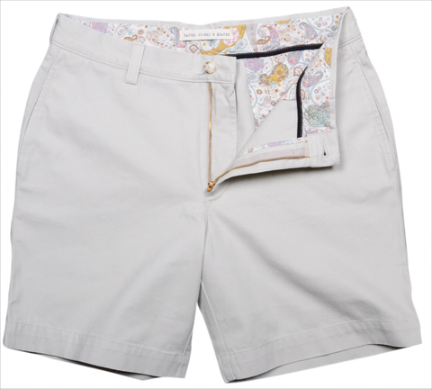 "Classic Vintage Twill<br>7"" Short<br>Stone"