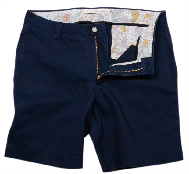 "Classic Vintage Twill<br>7"" Short<br>Navy"