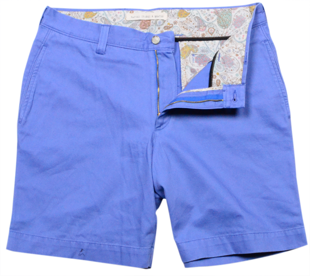 "Classic Vintage Twill<br>7"" Short<br>Blueberry"