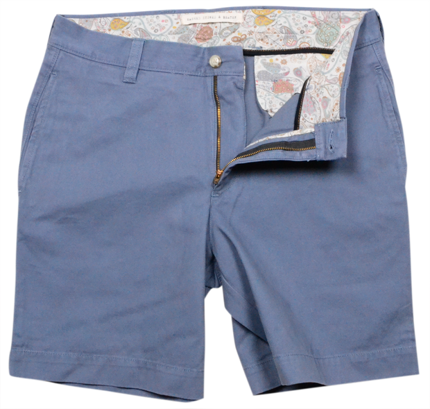 "Classic Vintage Twill<br>7"" Short<br>Slate"