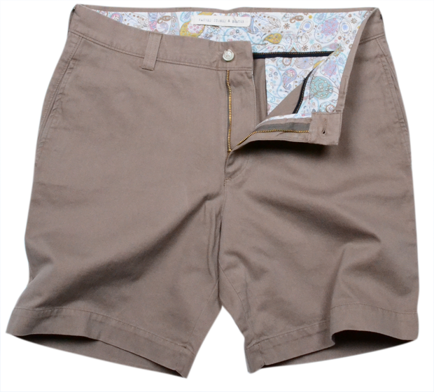 "Classic Vintage Twill<br>7"" Short<br>British Tan"