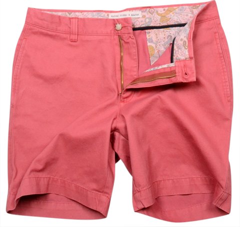 "Classic Vintage Twill<br>7"" Short<br>Charleston Brick<br>(Pigment Dyed)"