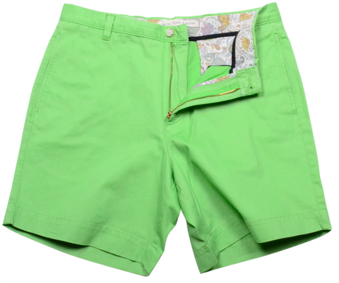 "Classic Vintage Twill<br>7"" Short<br>Lime"
