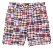 Patch Madras Short<br>Red