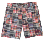Patch Madras Short<br>Dark Green