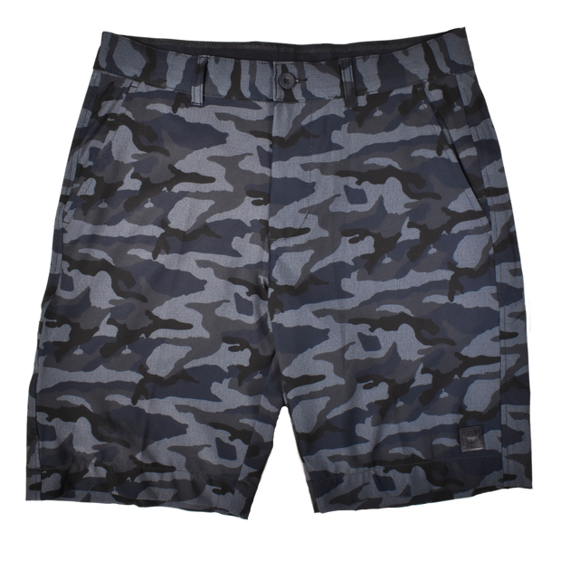 Camo Golf Short Navy