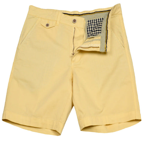 "Sunny Stretch Twill<br>Flat Front Short<br>Daylight<br>8.5"" Inseam"