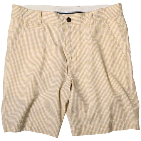 Vintage Seersucker Short<br>Tan