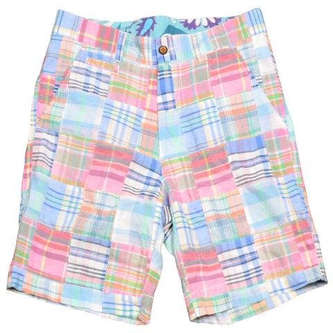Authentic Madras Short<br>Pink