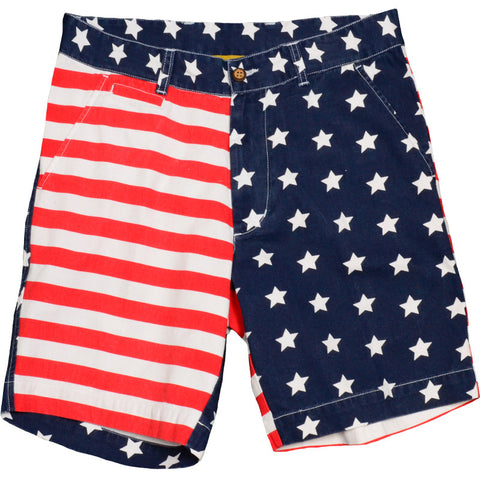 Americana Color Block Short <br> Americana