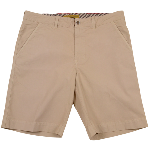 Stretch Poplin Short<br>Khaki