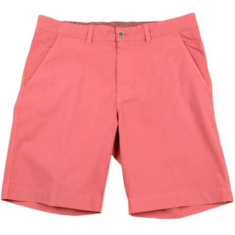Stretch Poplin Short<br>Charleston Brick