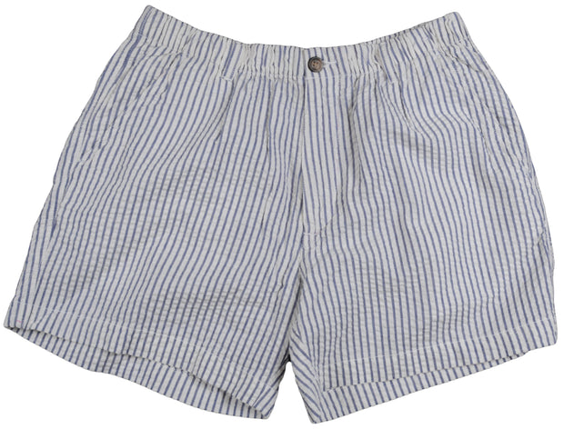 Seersucker Short<br>Navy