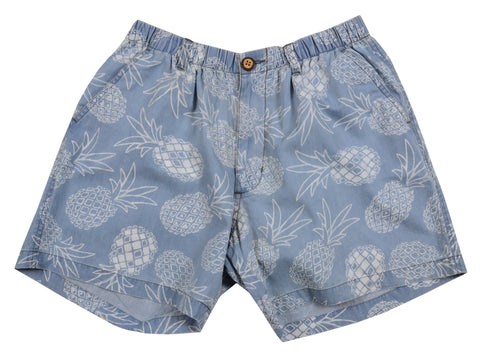 Chambray Short<br>Indigo