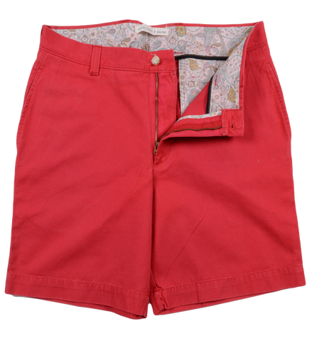 "Classic Vintage Twill<br>7"" Short<br>Red"