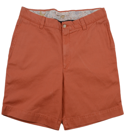 "Classic Vintage Twill<br>7"" Short<br>Orange"