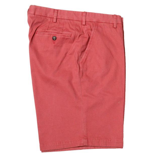 "Classic Vintage Stretch Twill<br>9"" Short<br>Charleston Brick"