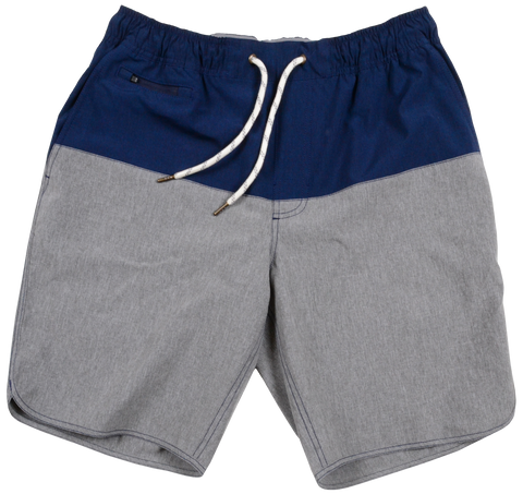 Color Block Windjammer <br> Midnight/Grey