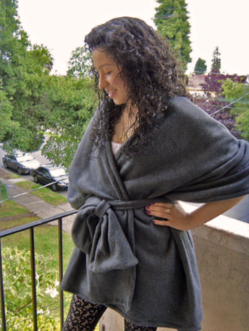The Zero Waste Poncho