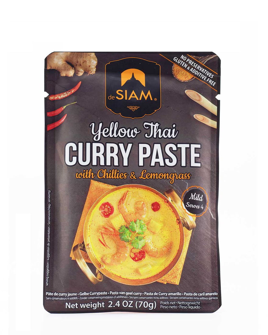 Yellow Thai Curry Paste - Mild