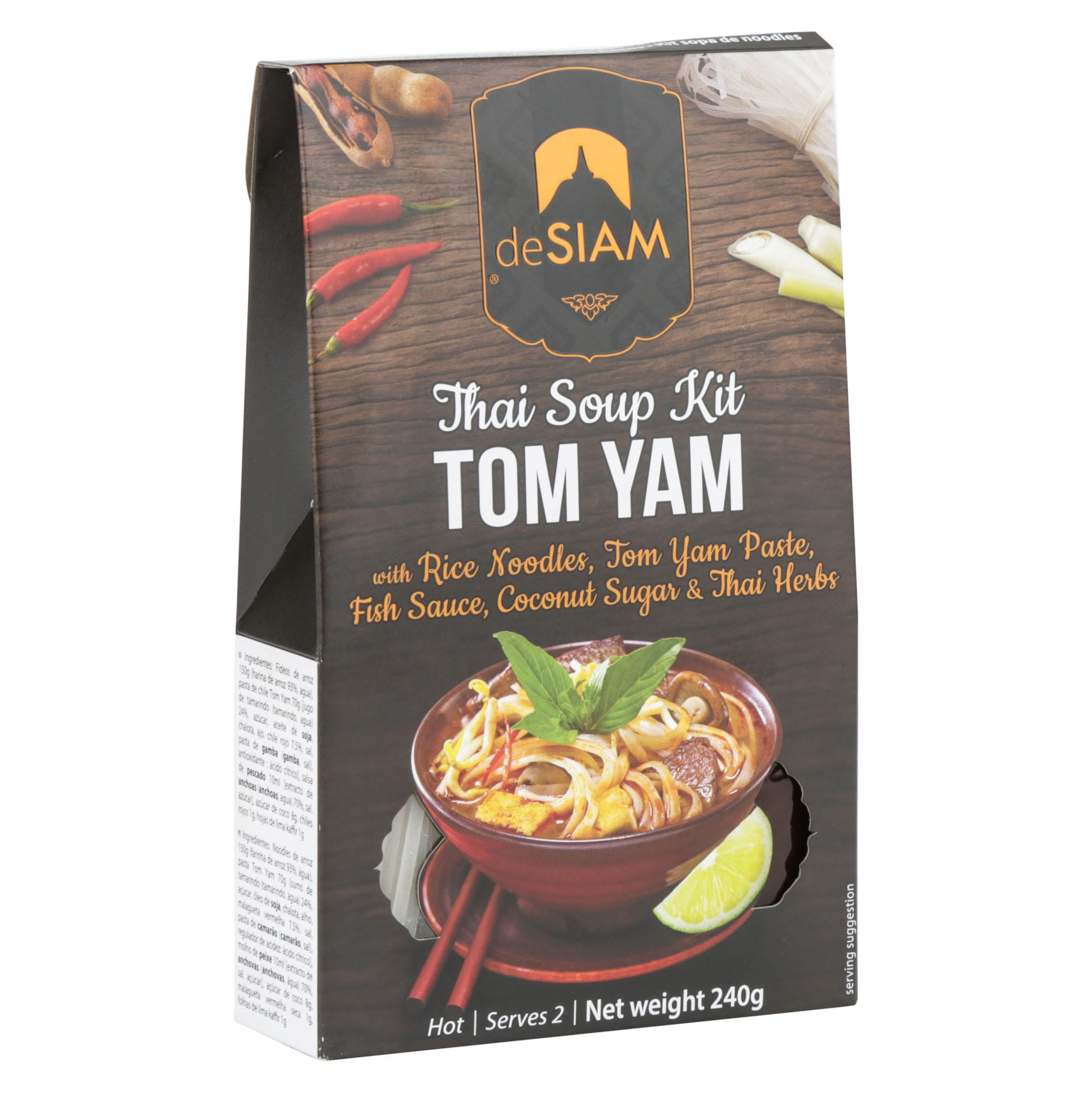 Tom Yam Noodle Soup Kit