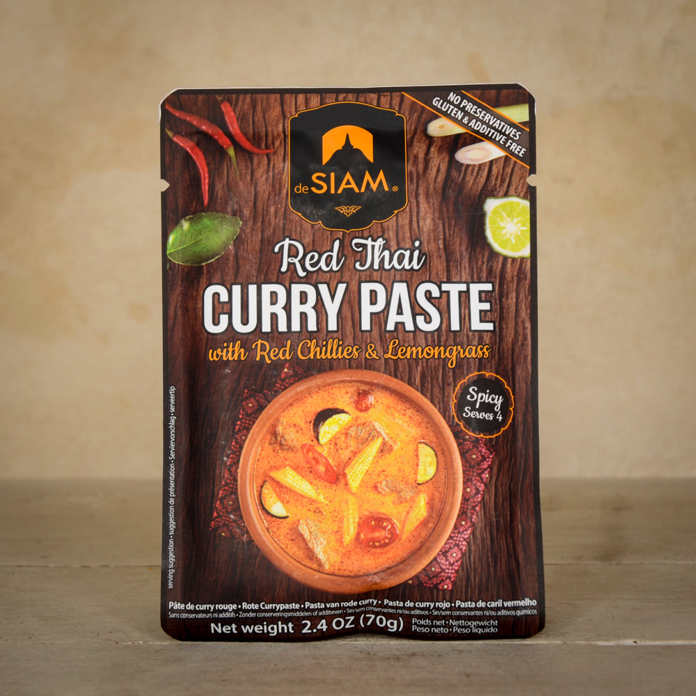 Red Thai Curry Paste - Spicy