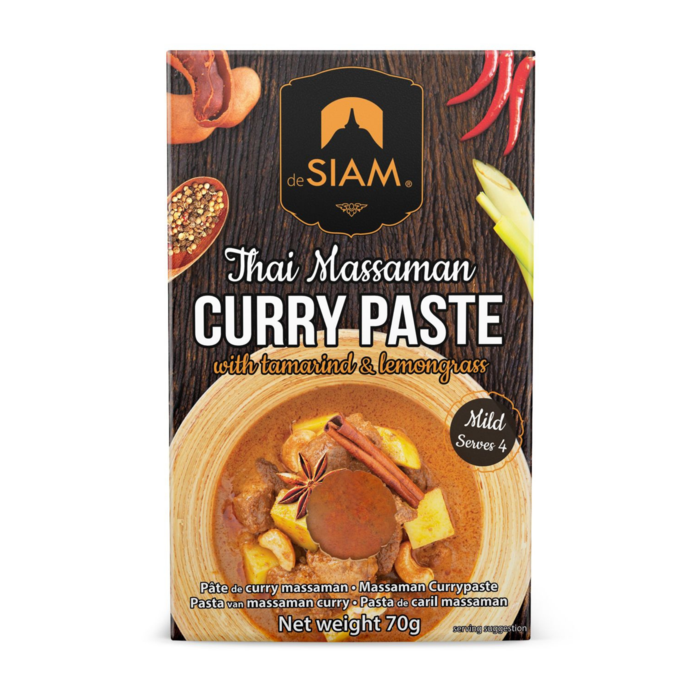 Massaman Curry Paste - Mild