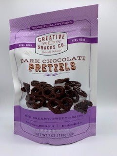 Dark Chocolate Coated Pretzels