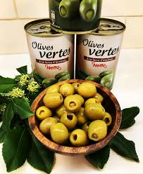 Green Olives stuffed with Anchovy