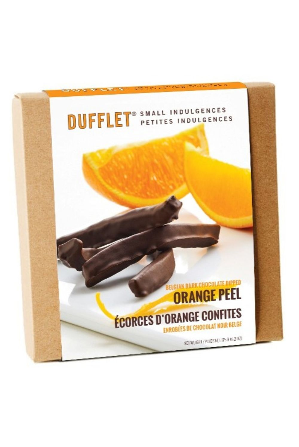 Dark Chocolate Dipped Orange Peel