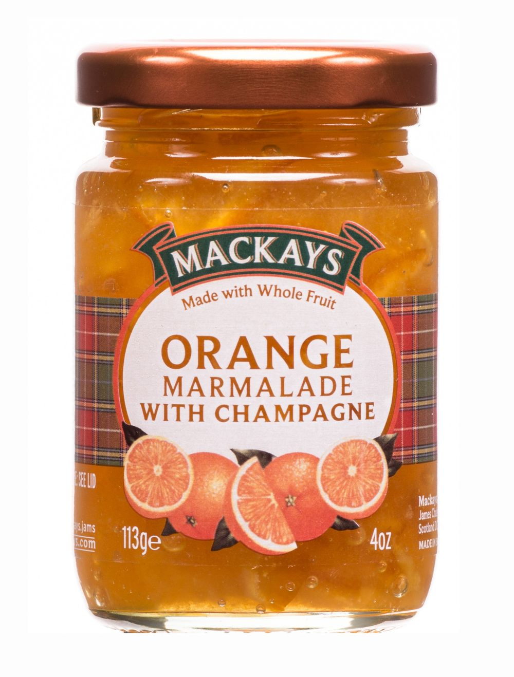 Orange Marmalade with Champagne