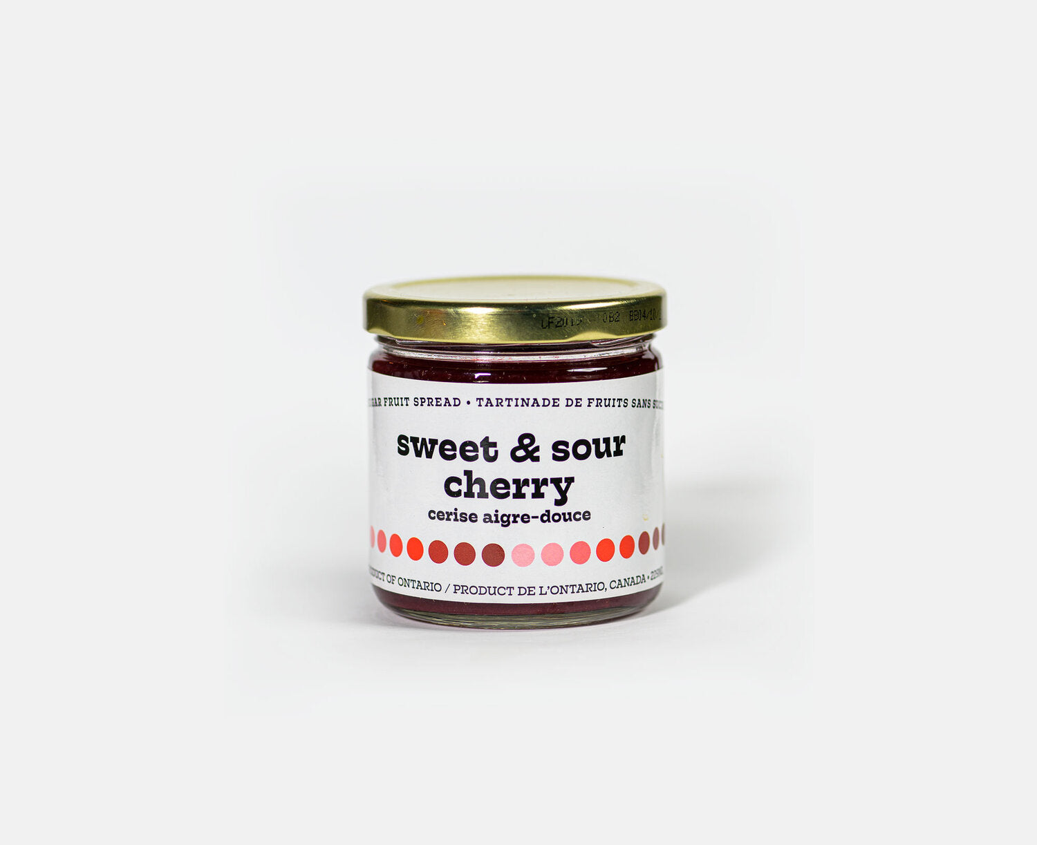 Sweet & Sour Cherry No Sugar Fruit Spread