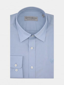 MONOGRAMMED POPLIN SMART CASUAL SHIRT