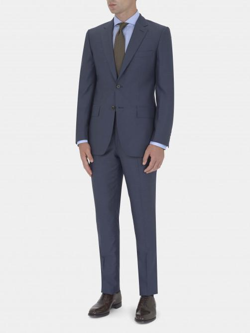 RAF BLUE WOOL AND SILK SUIT