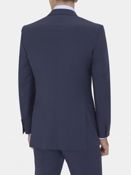 NAVY VIRGIN WOOL SUIT JACKET