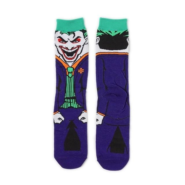 Men's autumn winter cotton funny crew socks