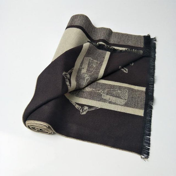 180*30cm Fashion Men Business Neck Scarves
