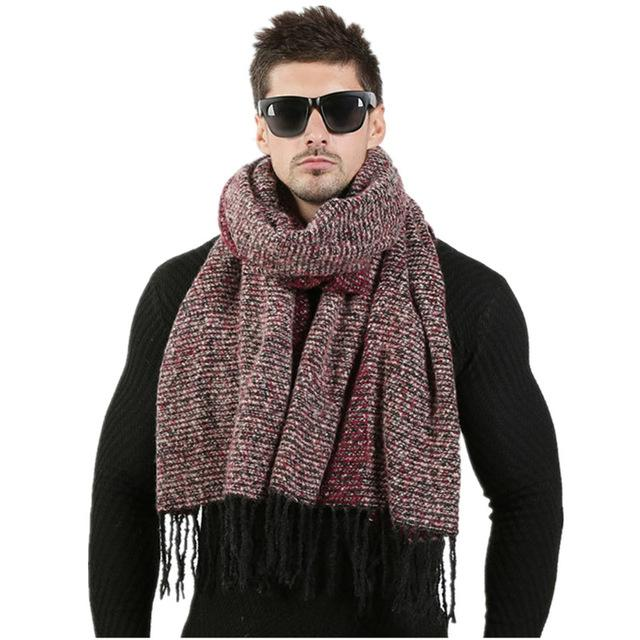 Newest 70cm*200cm Men Fashion Design Scarves